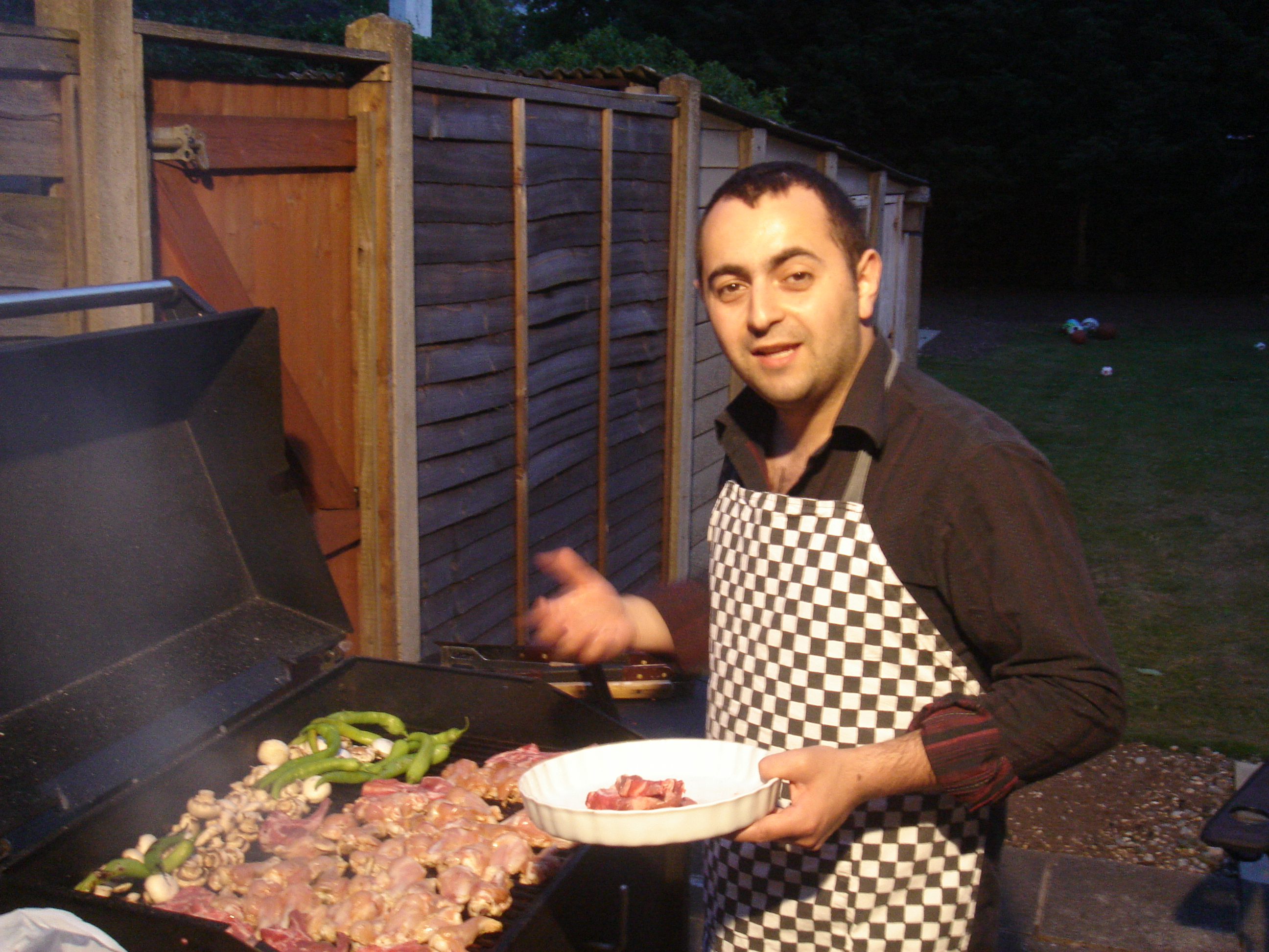 Night time BBQ's are awesome